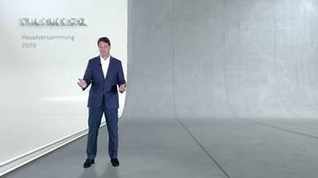 Video: Daimler will gegen Corona-Krise ansparen