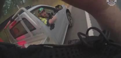 27-jähriger kämpft im pickup mit giftiger schlange