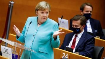 angela merkel im eu-parlament: ihre pläne für die ratspräsidentschaft