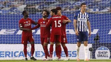 premier league - liverpool steuert auf 100 punkte zu - man city gewinnt 5:0