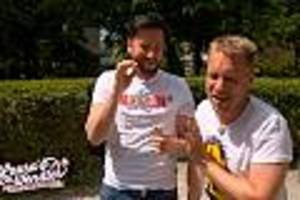 Beim Saufen in TV-Show - Über den Kindergeldwitz von Oli Pocher kann der Wendler überhaupt nicht lachen