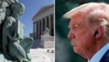 Donald Trump: Peinliche Niederlage am obersten Gericht