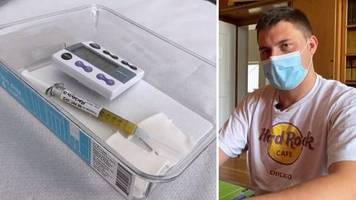 Studie in Tübingen: Chemiestudent testet Corona-Impfstoff: Ich vertraue auf die Wissenschaft