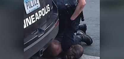 auswertung der polizei-bodycams im einsatz gegen george floyd vorgelegt