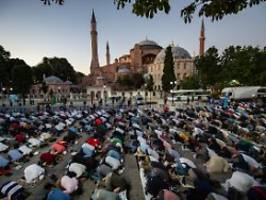 Museum wird in Moschee umgemünzt: Erdogan: Hagia Sophia noch im Juli öffnen