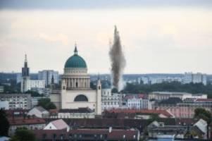 Notfälle: Erneut Bombenfund in Potsdam: Entschärfung Mittwoch geplant