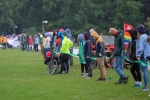 hamburg: fridays for future: nur 220 aktivisten bei demo im stadtpark
