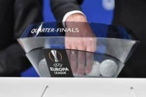 Auslosung in Nyon: Europa League: Bundesliga-Duell im Viertelfinale möglich