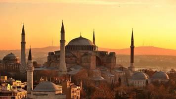 Status als Museum anulliert: Berühmtes Istanbuler Wahrzeichen Hagia Sophia wird Moschee