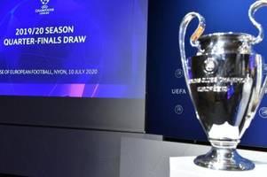 Champions Leauge-Auslosung: FC Bayern wohl gegen Neapel oder Barcelona