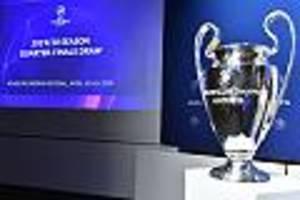 Champions-League-Auslosung - Champions-League-Auslosung: FC Bayern droht der Doppel-Hammer
