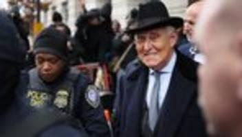 Russland-Affäre: Donald Trump verhindert Gefängnisstrafe für Roger Stone