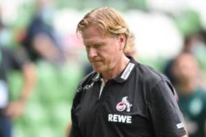 Bundesliga: 1. FC Köln: Verlängerung mit Trainer Gisdol fast perfekt