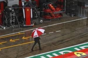 Formel 1: Dauerregen in Spielberg: Abschlusstraining abgesagt