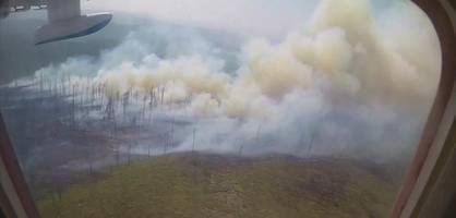 wälder in russland stehen seit wochen in flammen