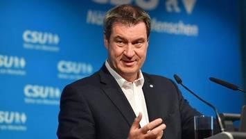 kanzlerschaft – umfrage: söder hätte bessere chancen als habeck und scholz