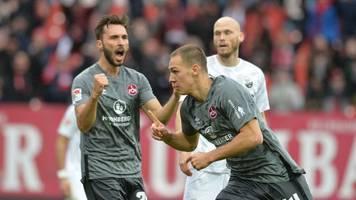 Nürnberg entgeht in letzter Sekunde der Drittklassigkeit