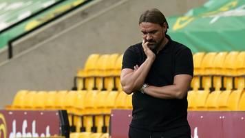 premier league: norwich city mit trainer farke erster absteiger