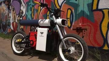 design-bike: punch moto – avantgardistisches elektromotorrad aus weißrussland