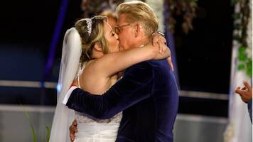 ich will spaß-sänger: die hunde brachten die ringe: ndw-star markus mörl heiratet live im tv