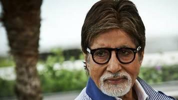 Amitabh Bachchan: Bollywood-Star mit Coronavirus infiziert