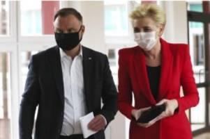 Hohe Beteiligung: Prognose: Kopf-an-Kopf-Rennen bei Präsidentenwahl in Polen
