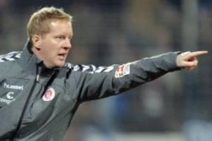 Fußball: Timo Schultz ist neuer Cheftrainer des FC St. Pauli