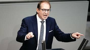 Bundestagswahl 2021: Dobrindt warnt Union vor verfrühter Debatte über Kanzlerkandidatur