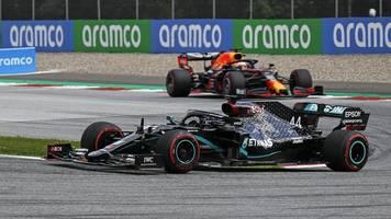 Formel 1 in Spielberg: Totalschaden für Vettel und Ferrari - Hamilton siegt