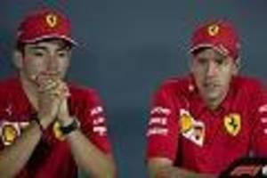 GP der Steiermark  - Nach frühem Ferrari-Doppel-Aus: Vettel frustriert, Leclerc untröstlich