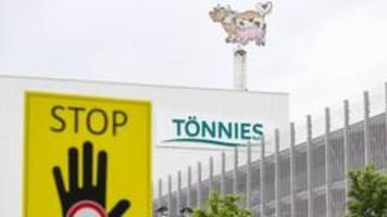 Kritik an Tönnies wegen Antrag auf Lohnkostenerstattung