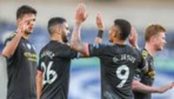 Internationaler Sportgerichtshof: Manchester City darf doch in der Champions League antreten