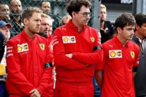 Formel 1: Ferraris Desaster in Österreich: Rot vor Scham