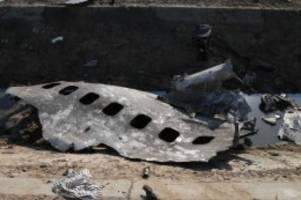 Menschlicher Fehler: Iran erläutert Hintergründe zu Abschuss von Flugzeug