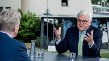 ZDF-Sommerinterview: Steinmeier wünscht sich mehr Geld für Corona-Helfer: Von Wertschätzung kann man nicht dauerhaft zehren