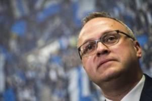 Fußball: HSV hält Unions Vorschlag für sehr schwer durchführbar