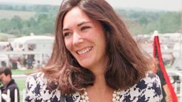 Vor Gericht:: Ghislaine Maxwell - Wer ist die Ex-Partnerin von Epstein?