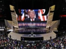 US-Politik: Trumps Traum vom pompösen Parteitag