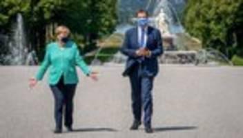 Corona-Pandemie: Söder unterstützt Merkels EU-Kurs