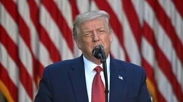 Trump unterzeichnet Sanktionsgesetz gegen China wegen Hongkong