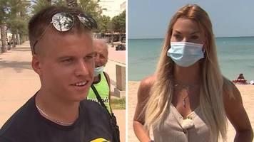 Corona-Regeln im Urlaub: Maskenpflicht spaltet Mallorca-Urlauber: Ich sehe es nicht ein, eine Maske zu tragen, für was?