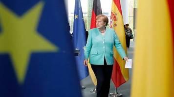 Kampf gegen die Corona-Krise: EU-Wiederaufbaufonds: Merkel vor EU-Gipfel kompromissbereit