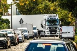 Verkehrsprobleme: Berlin hat keine Alternative zu Lkw-Routen durch Pankow