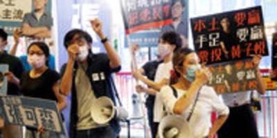 """China empört über Hongkongs Vorwahlen: """"Es könnte die letzte Chance sein"""""""
