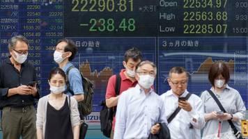 Nikkei, Topix & Co.: Spannungen zwischen China und USA belasten Asia-Börsen