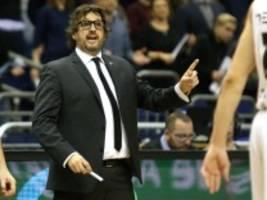 Basketball: Andrea Trinchieri wohl neuer Coach des FC Bayern