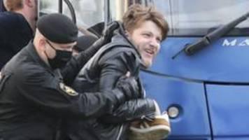 proteste vor präsidentenwahl: zahlreiche festnahmen in belarus
