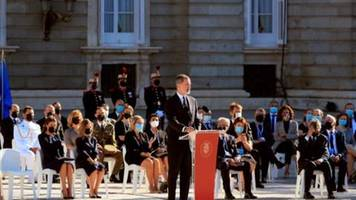 Spanien gedenkt in bewegender Zeremonie seiner Corona-Toten