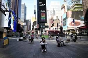 Pandemie: Coronavirus: Wie sich New York zurück ins Leben tastet