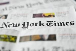 Risiko für Medien: Hongkong sperrt New-York-Times-Journalisten aus